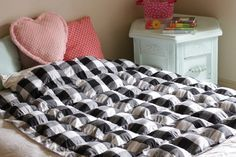 How to Sew a Weighted Blanket – I need to make one of these for me! Yoga with Ga…