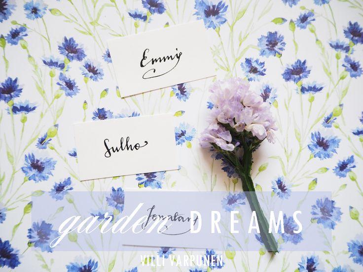 Handlettering {garden dreams}
