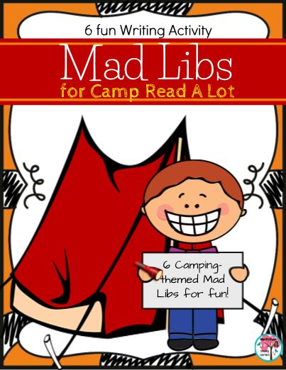 It's just a picture of Soft Camping Mad Libs Printable