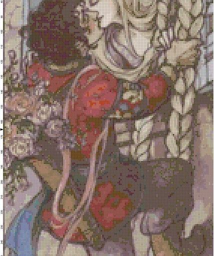 Welcome to the largest cross-stitch shop on ArtFire! BUY 3 PATTERNS, GET 3 MORE FREE!!! (simply email me with the names of the 3 patterns you want as your free gift, and I will email all 6 to you after checkout) I love the romance of this gothic illustration. It reminds me of the Brothers Grimm story book I had as a child. With easy to follow directions, you can easily create a one-of-a-kind work of art for any room in your house! Finished piece will be around 10x23.5 inches, base...