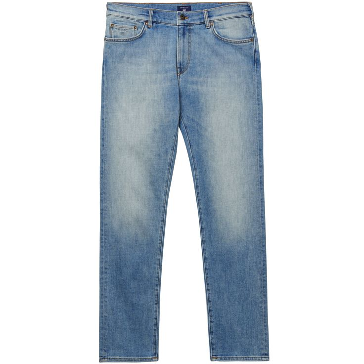 GANT WORN STRETCH JEANS (42/34) BLAU