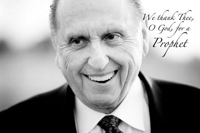 President Thomas S. Monson...love this man!