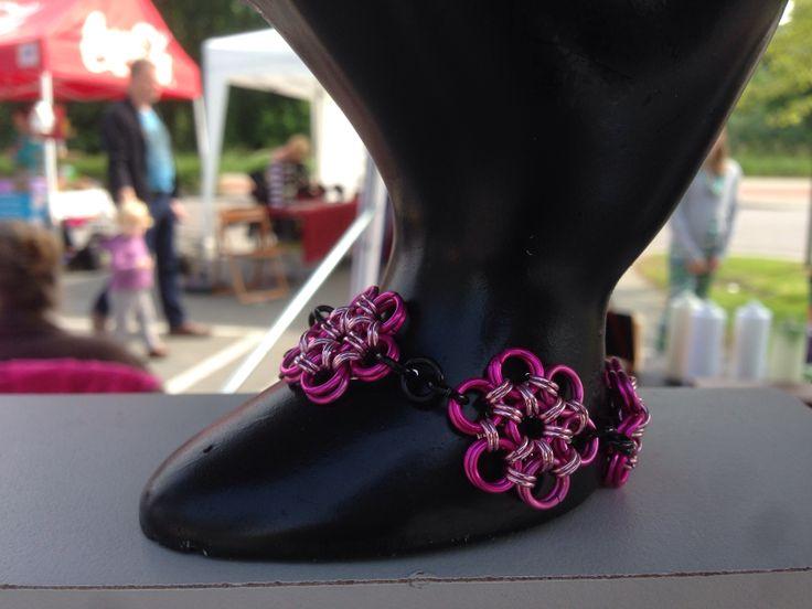 #Armband gemaakt voor een #bruidskindje / #bracelet made on order for the daughter of The #bride #bruidsjuwelen #bridaljewelry #bridesjewelery