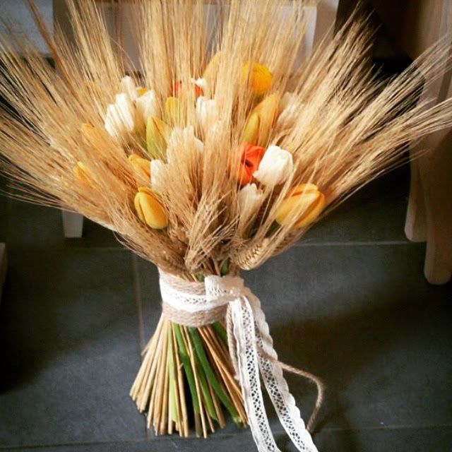 #wheat #wildflowers #rustic