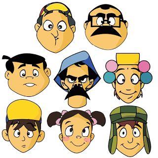Vetores e Imagens dos Personagens do Chaves gratis