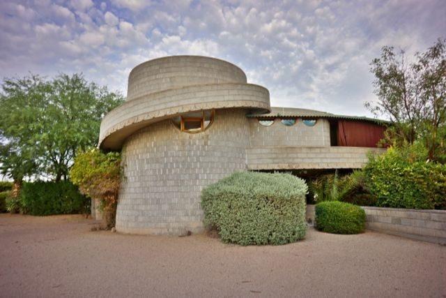 David and Gladys Wright House - 1950-1952 Phoenix, Arizona