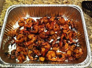 Nordy's BBQ: Butcher BBQ Honey Rub Smoked Shrimp