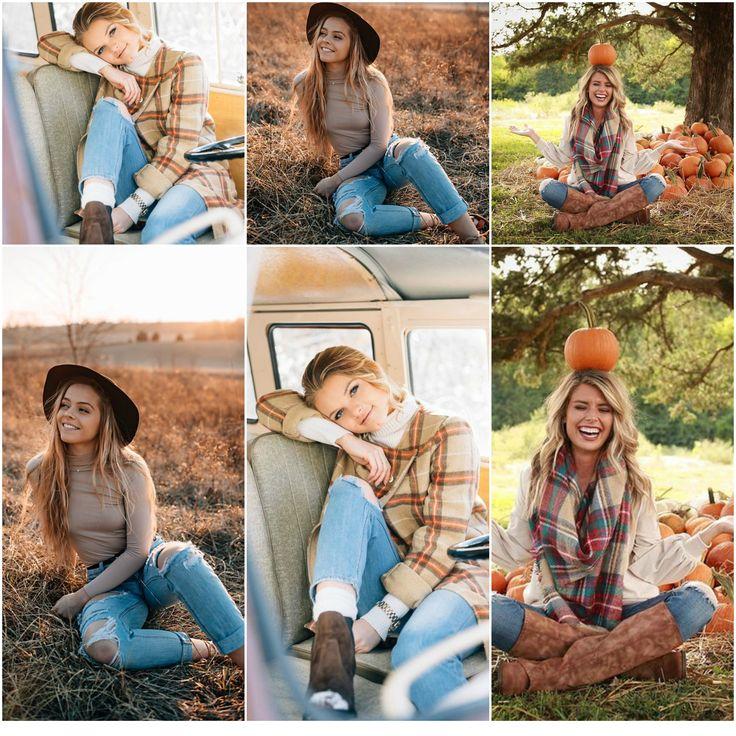Fall senior picture theme