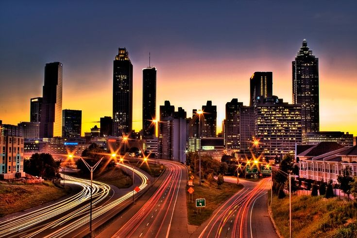 Atlanta City Skyline | Atlanta City Skyline