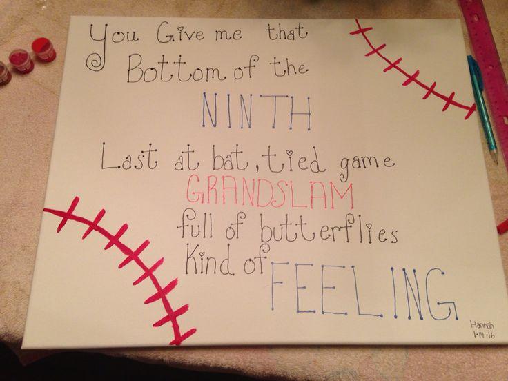 Baseball boyfriend gift idea