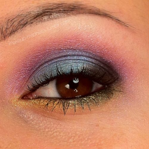 Urban Decay Deluxe Shadow Box eyeshadow look: Jungle by Makeup-Madness.tumblr.com