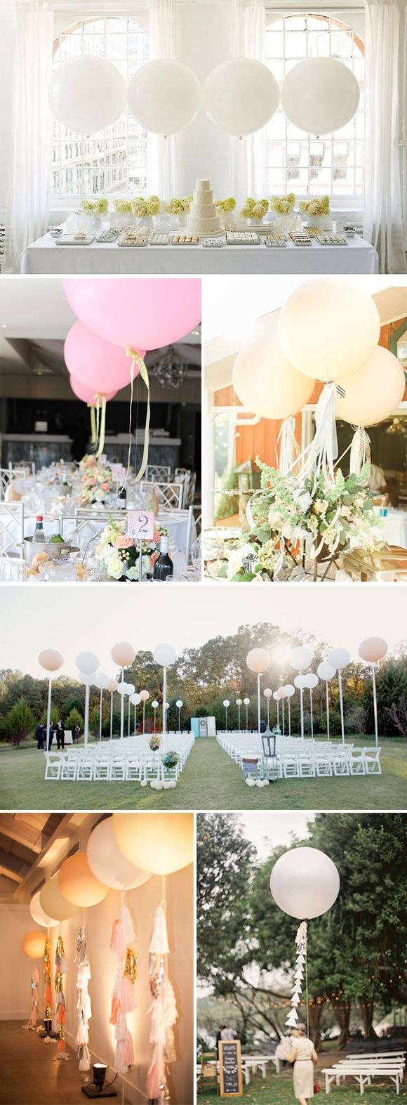 M s de 25 ideas incre bles sobre globos gigantes en - Ideas para bodas espectaculares ...