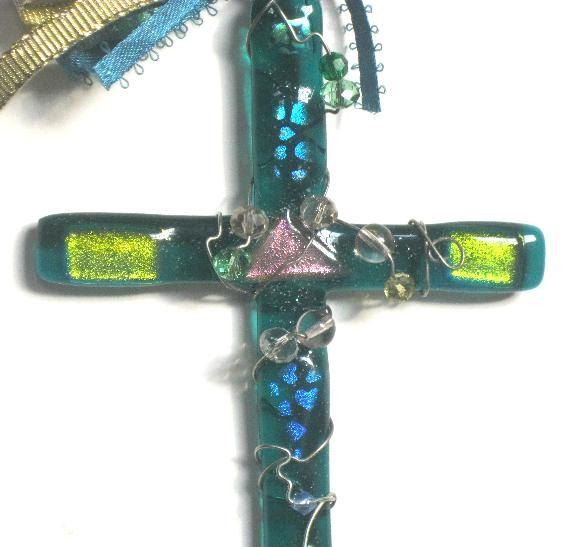Wall Crosses,Religous Easter gifts, Glass Suncatcher Glass Crosses,Fused Glass Crosses,Glass Sun Catcher, Wall Crosses,Decorative Crosses by SuspendedStar on Etsy