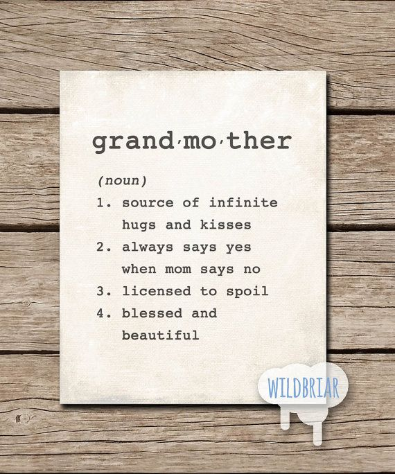 23 best dictionary definitions images on pinterest qoutes about printable wall art grandmother dictionary definition grandparent gift rustic canvas type instant stopboris Choice Image