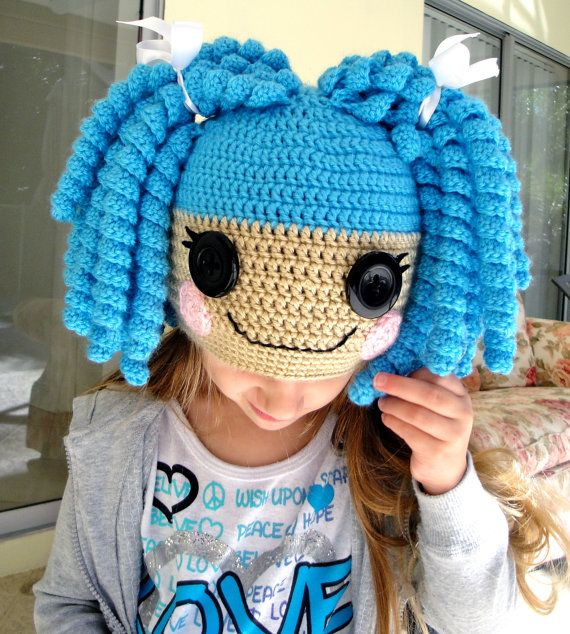 Lalaloopsy Inspired Hat ... What a cute hat!