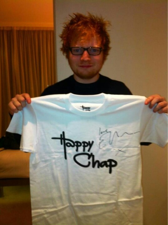 Ed Sheeran. Signed and certified!
