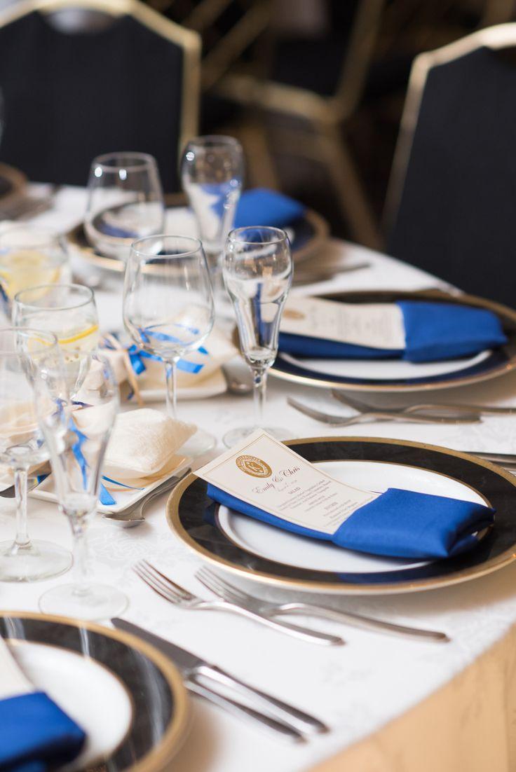 Event Design: Kehoe Designs - http://www.stylemepretty.com/portfolio/kehoe-designs Reception Location: Millenium Hotel - http://www.stylemepretty.com/portfolio/millenium-hotel Event Planning: Chi Chic Weddings & Events - http://www.stylemepretty.com/portfolio/chi-chic-weddings-and-events   Read More on SMP: http://www.stylemepretty.com/2016/09/21/blue-ivory-greek-chicago-wedding/