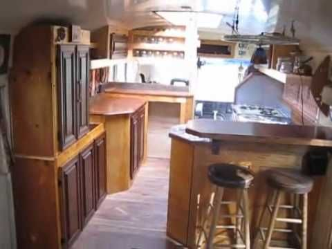 Our home on wheels, a converted Blue Bird school bus, is for sale!   Check out our site, http://deorwoodworking.wordpress.com/ , for more info and pictures of other projects.