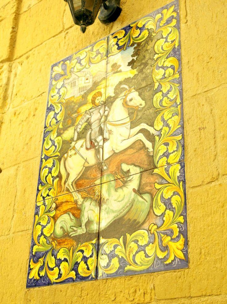 #Victoria #Gozo #Malta #wall