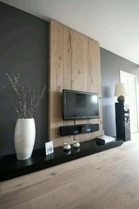 Ideas para decorar el area de tv