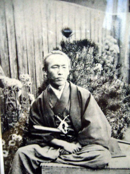 Legendary samurai hero Sakamoto Ryoma, late Edo preiod.