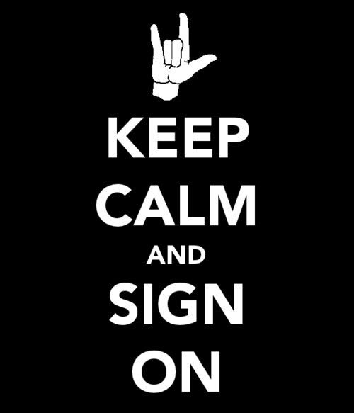 Deaf culture and proud ♥