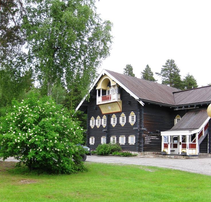 Finland  Bombahuis in Nurmes
