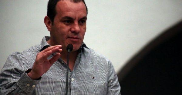 #DESTACADAS:  Será Cuauhtémoc Blanco candidato de Morena en Morelos - El Economista