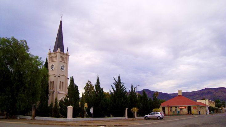 Church in Calvinia, Northern Cape, South Africa