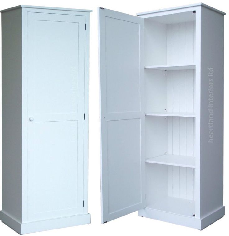 Marvelous 100% Solid Wood Cupboard,180cm Tall White Painted, Linen, Pantry Storage  Cabinet | Shelves | Pinterest | Pantry Storage Cabinet, Pantry Storage And  Storage ...