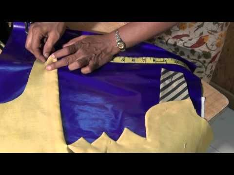 how to make saree blouse back fashion part 1 - YouTube