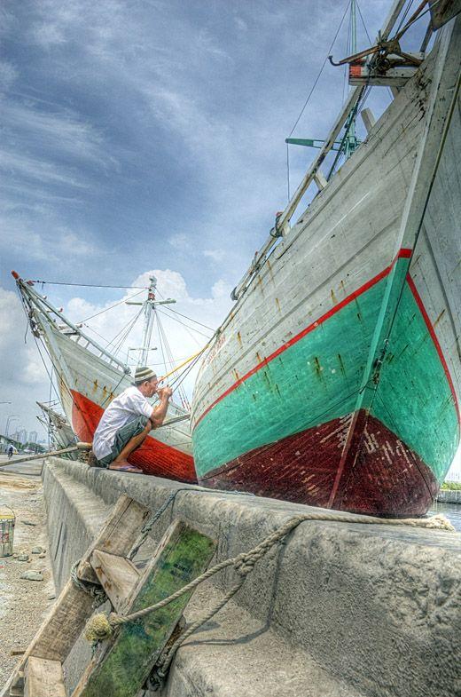 Sunda Kelapa Harbor, Jakarta by Tempodulu