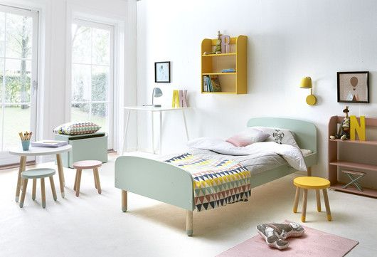 Furniture with painted legs - great for the play room
