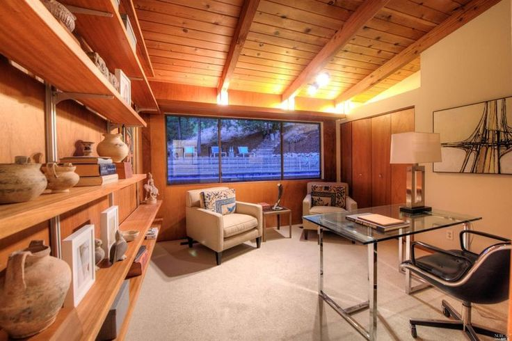 Midcentury gem with original furniture goes on market for first time, asks $2.3M. Built by Mark Mills, an apprentice of Frank Lloyd Wright.