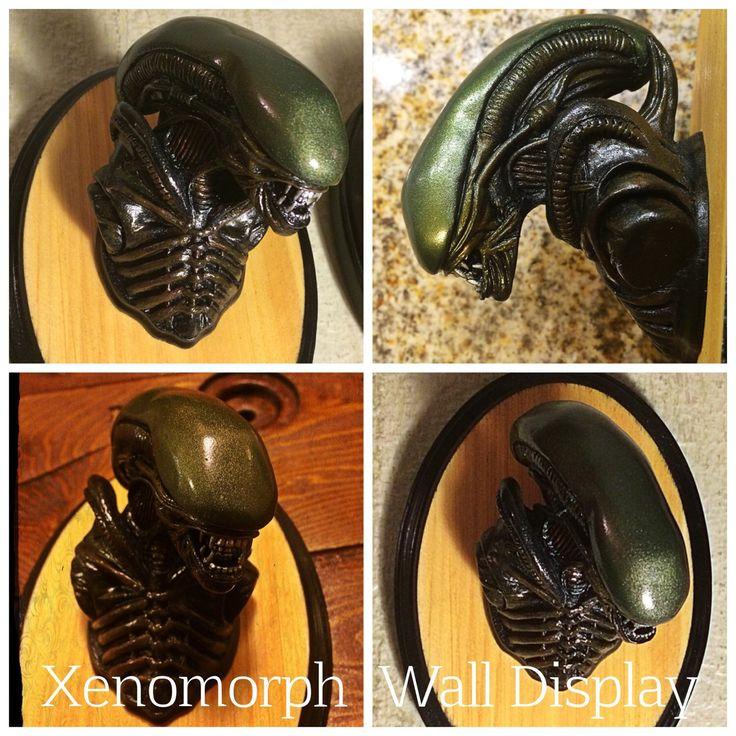 Alien Xenomorph Mini Taxidermy Display by HaskellFX on Etsy https://www.etsy.com/listing/230915709/alien-xenomorph-mini-taxidermy-display