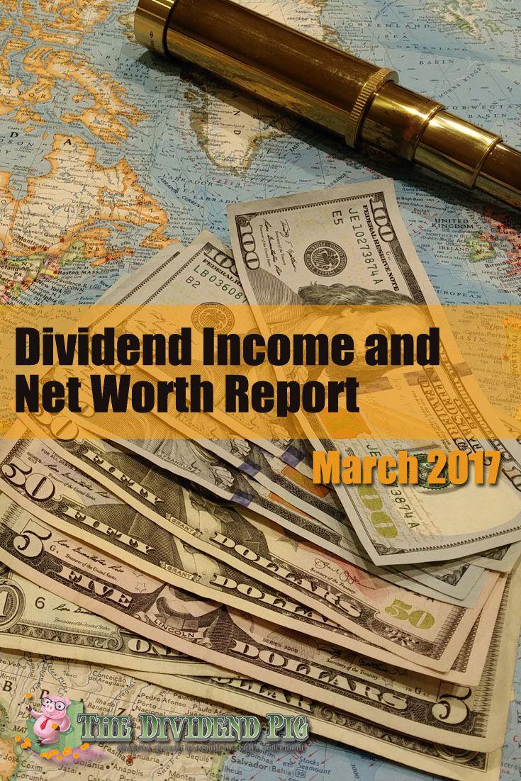 Dividend statement net worth report march 2017