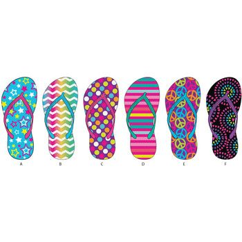 Girls Assorted Printed Basic Flip Flops. Bulk wholesale flip flops for girls at dollardays.com. Less than $2 a pair!