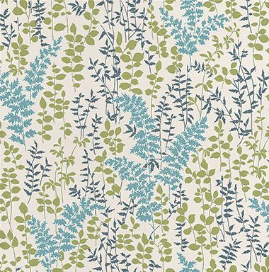 Fern Blue wallpaper by Albany