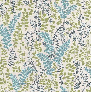 Fern Blue wallpaper by Albany