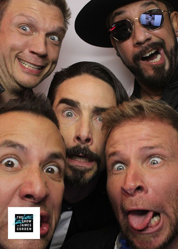 James Corden Became The Sixth Member Of Backstreet Boys For One Night - CBS.com