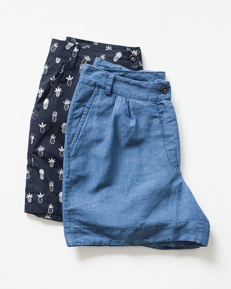 Soft cotton shorts.