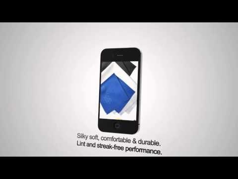 Clean Screen Wizard Microfiber Cloth, your Iphone's best friend
