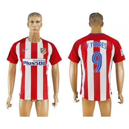 Atletico Madrid 16-17 #Fernando Torres 9 Hemmatröja Kortärmad,259,28KR,shirtshopservice@gmail.com