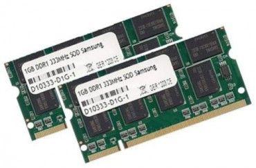 DDR1 200pin Notebookspeicher: Samsung 2GB 2x 1Gb Speicher DDR 333Mhz SODIMM PC2700 RAM PC333 SO-DIMM Notebook 200pin @www.speicher-profi.de https://www.speicher-profi.de/apple-kompatible-speicher/ibook/1024mb-1gb-ram-speicher-333mhz-pc-2700-fuer-apple-powerbook-ibook/a-379128/