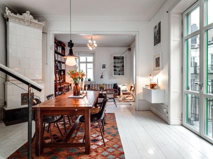 rustik vindsvåning i stockholm matrum