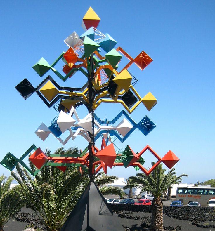 Cesar manrique wind sculpture google search lanzarote - Cesar manrique wikipedia ...