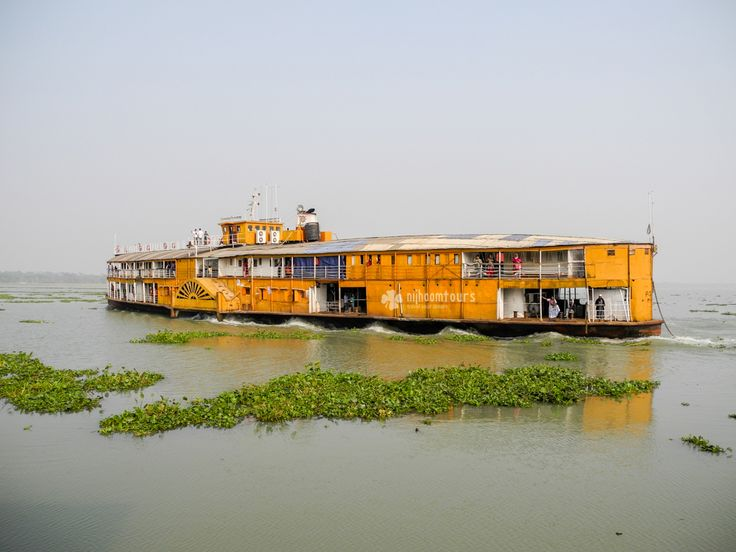Century old paddle steamer still on service in Bangladesh