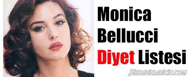 Monica Bellucci Diyeti Nasıl Yapılır? - http://www.bizkadinlaricin.com/monica-bellucci-diyeti-nasil-yapilir.html  Monica Bellucci 48 yaşında olup, iki güzel kızı vardır ve hala büyüleyici ve karşı konulmaz güzelliğe sahip bir kadındır. Monica bellucci diyeti nasıl yapılır? makalemizde bu ünlünün diyet listesini yayınladık. Monicanın uyguladığı ağır sporlardan uzak bol mevsim meyveleri, çeşitli sebzeler , yağsız et ve balık ile sağlıkl