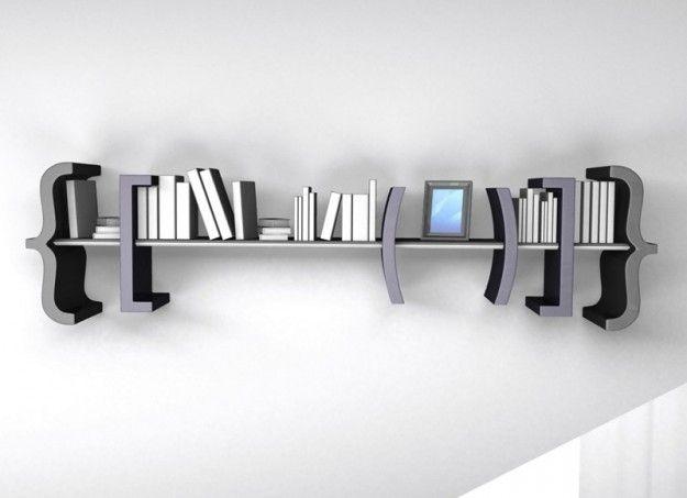 Libreria design moderno, Equation