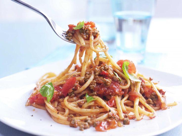 Vegetarische spaghetti bolognaise